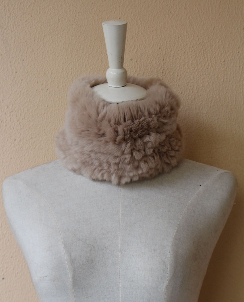 fur scarf rabbit rex for women (3)