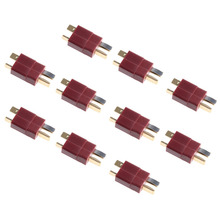 20Pcs 10 Pairs T Plug Male & Female Connectors Deans Style For RC LiPo Battery