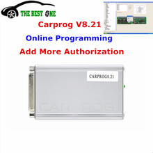 Online Operation Carprog V8.21 & V9.31 Main Unit Add Much More Authorization Car Prog 8.21 ECU Chip Tuning Auto Car Repair Tool