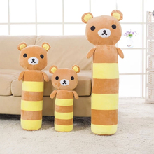 Cute Bear Pillow Cartoon Plush Toy Animals Large Stuffed Monkey Almofadas Birthday Gift Coelho Pelucia Toys For Girls 50G0467(China)