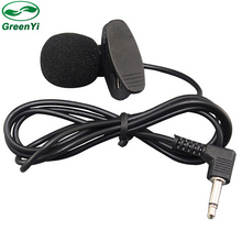 GreenYi 3.5mm Stereo Jack Plug Mono Car Audio Microphone Pc Mic With 1m Cable Mini Wired External Microphone Free Shipping(China)