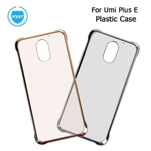 Umi plus E Cases Hard Plastic Case Screen Protector Original Transparent Back Cover for Umi plus Phone Accessories Free Shipping
