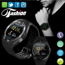 Slimy 2017 Time-limited Y1 Bluetooth Smart Watch With Sim Tf Clock Hours Mtk6261 Smartwatch Phone For Round Circle in Stock(China)