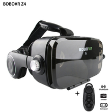 2017 BOBOVR Z4 (4.0 Version ) Google cardboard VR BOX with Headphone VR Virtual Reality 3D Glasses For 4.0 - 6.0 inch Smartphone