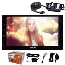 Eincar 2din Android6.0 Car Radio Stereo Double Din Head Unit Autoradio GPS Navigation Mirror link+Waterproof backup/front camera