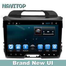 Navitop android 6.0 car dvd gps player for kia Sportage 2010 2011 2012 2013 2014 2015 in dash  2 din car stereo gps navigation