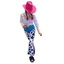 2017 Toy Story Yodeling Cowgirl Jessie Outfit Cosplay Costume(China)