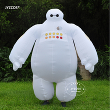 Halloween Inflatable costume Big Hero 6 Baymax Party Cosplay costume for men adult inflatable clothing baymax Mascot Fancy Dress(China)