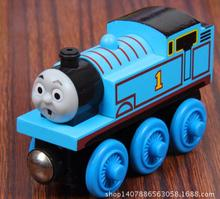 Wood Train Toy Magnetic Thomas And Friends No.1 Thomas Trainhead Wooden Railway Model Kids/Child Gift Christmas Gift