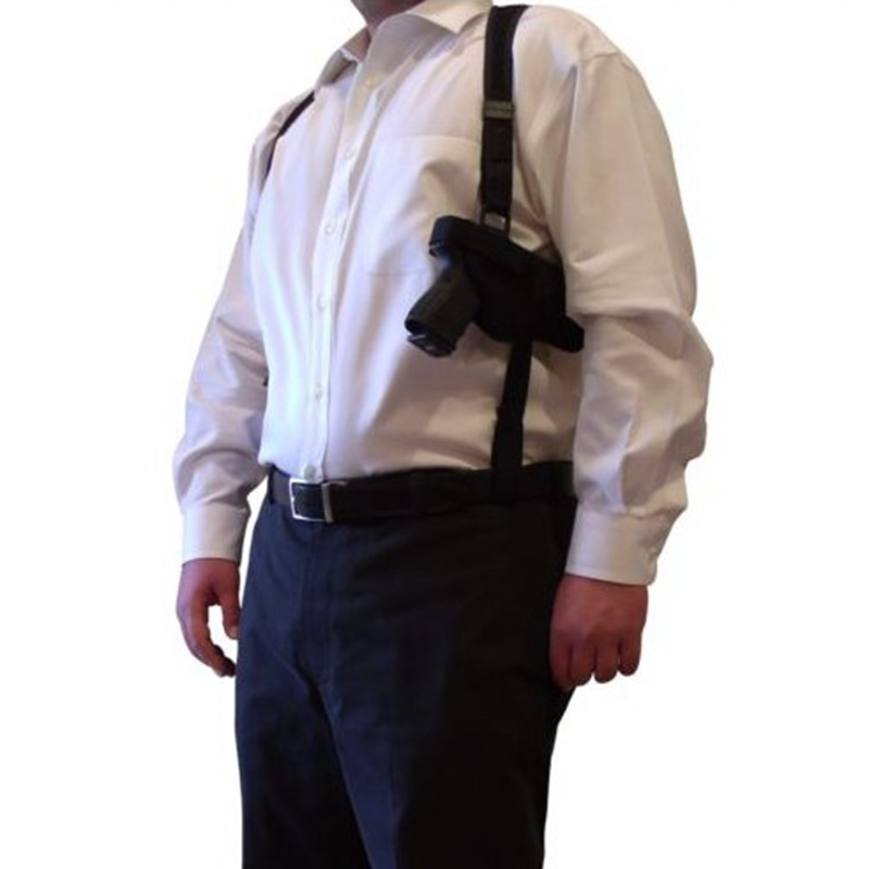 Tactical Double Draw Shoulder Holster Concealed Every Day Carry Pistol Holster