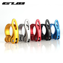GUB 31.8mm 34.9mm Bicycle Seat Post Clamp Aluminum Alloy Quick Release Bike Seatpost Clamps Clamping Clip Bike Parts(China)