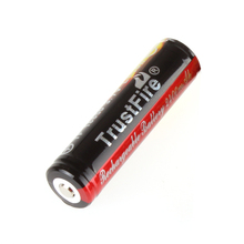 1pcs TrustFire 3.7V 18650 2400mAh Li-ion Rechargeable Battery with Protected PCB for LED Flashlights Headlamps
