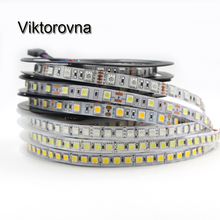 LED Strip Light 5050 5054 SMD 5M 12V Flexible RGB white 300 600 Led stripe LED Ribbon Tape lamp DC 12V waterproof ip67/non
