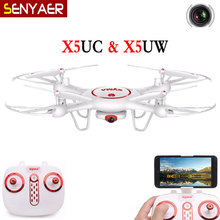 New Listing SYMA X5UW X5UC 2.4G 4-CH 6-Axis FPV Real Time Transmission RC Quadcopter Drone With WIFI HD Camera Helicopter Dron