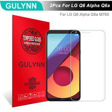 Buy 2Pcs/Lot GULYNN Amazing 2.5D 9H Tempered Glass LG Q6 Alpha Q6a M700 LCD Screen Protector Glass Film Tough Package for $3.77 in AliExpress store