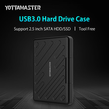 YOTTAMASTER 2.5 Inch USB 3.0 HDD External Enclosure Safety Waterproof HDD Harddisk Box SATA Tool Free HDD Case(China)