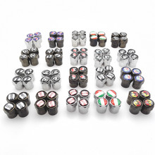 Car-styling Tire Valve Caps case for VW toyota audi ford nissan honda opel abarth mini mazda buick Chevrolet emblem car styling