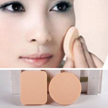 2pcs/set Synthetic Sponge Puff BB Cream Puff Round Oblong Patterns Makeup Puff Beauty Make Up Cosmetic Accessories