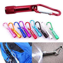 LEDGOO mini led flashlight keychain Carabiner flashlight camping Tool Torch Handy Carabiner Outdoor Columbia Lamp Keychain ,