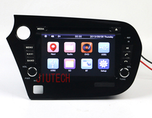touch screen Car Audio DVD player car Stereo GPS Navigation DVD Stereo Headunit Multimedia Fit For Honda Insight CD Audio Player