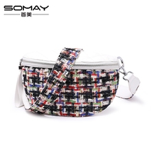 A0811 Somay brand Graffiti cc style UPleather women messenger bags luxury handbags women bags designer clutches bolsa feminina(China)