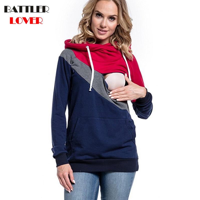 Parenting Pregnant Woman Hoody Hoodies Expectant Mother Kangaroo Hoodies Womens Sweatshirt Gruesa Hooded Sweatshirts Outerwear