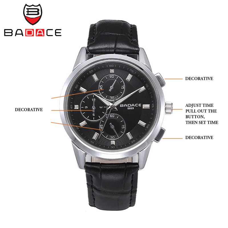 BADACE Business Swiss Men Watch Fashion Waterproof Hours 30M Sport Clock Quartz-Watches Leather Band Mens Wristwatches 8869 6  BADACE Business Swiss Men Watch Fashion Waterproof Hours 30M Sport Clock Quartz-Watches Leather Band Mens Wristwatches 8869 HTB1VfqSSpXXXXXmXVXXq6xXFXXXA