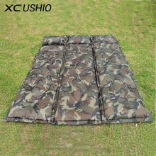 1x Joinable Automatic Inflatable Cushion Moisture-proof Mattress Outdoor Camping Thickened Mat Large Tent Military Sleeping Pad