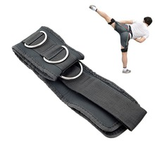 Fitness Adjustable Padded Jump Training Belt Resistance Band 5D Ring Strap Leg Strength Bounce Speed Exercise Gym Equipment(China)