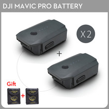 2PCS DJI Mavic Pro Intelligent Flight Battery Max 27-min Flight Time 3830mAh 11.4V Designed for the Mavic pro(China)