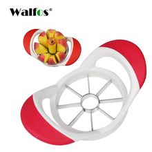 WALFOS brand food grade Multi-function Fruit Vegetable Tools Onion Cutter Apple Peeler Slicer Stainless Steel Kitchen Tools(China)