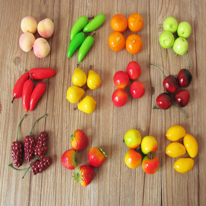 Как сделать декоративные фрукты 923