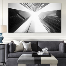 Toronto Skyscrapers Black and White wall art pictures modern city buildings print canvas oil paintings paintings home decor(China)
