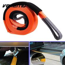 Vehemo Emergency 2.95*19.68 inch Tow Rope Trailer Lifting Hoisting Belt Pulling Strap Cars(China)