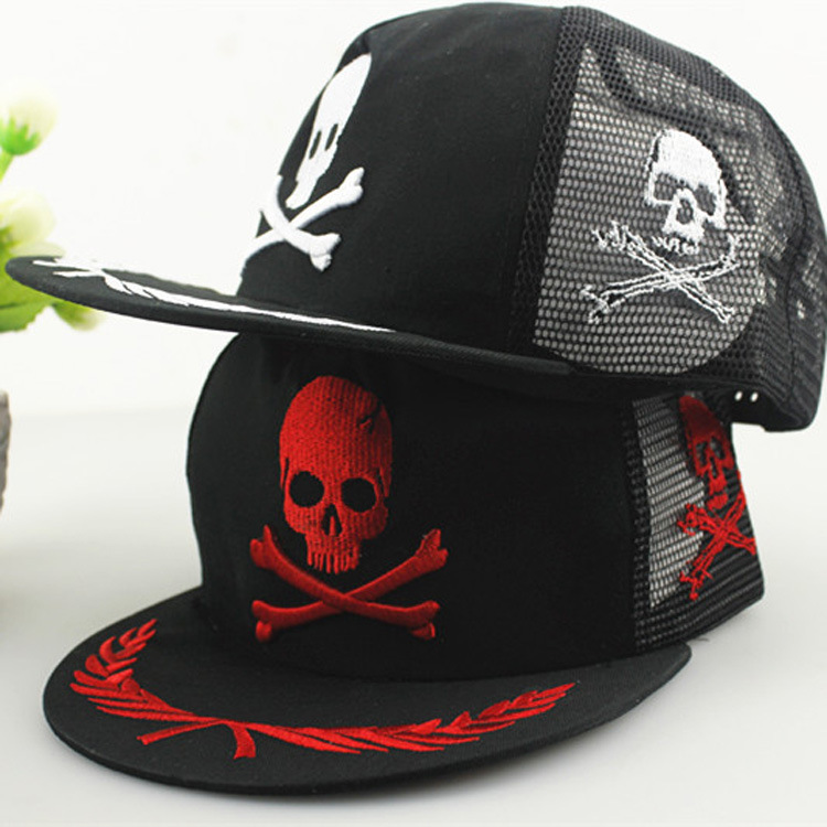 2015 Gorras Planas Baseball Cap Net Skull Cotton Summer Sun Hat Trendsetter Truck Leisure Flat Along The Hip-hop Casual Adult<br><br>Aliexpress