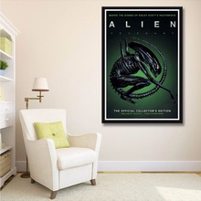 X093 New 2017 Thriller Science Fiction Alien Covenant Horror Movie A4 Art Print Poster Silk Light Canvas Painting Home Decor Wal(China)