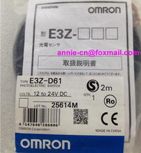 New and original E3Z-D61, E3Z-D81   OMRON  Photoelectric switch   2M  12-24VDC