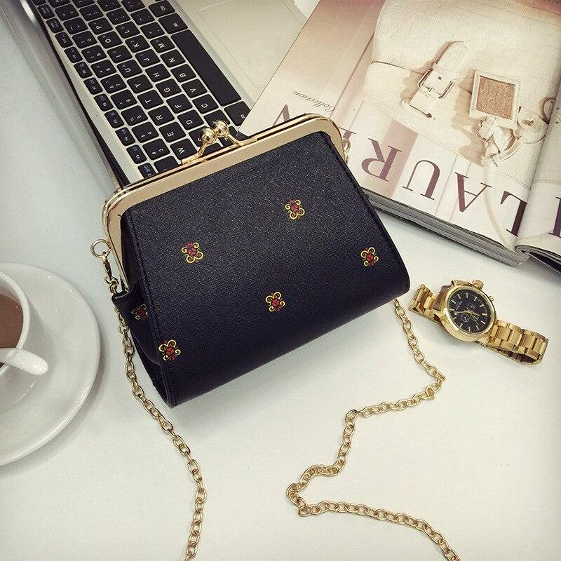 2016 new fashion simple chain package mobile phone bags ladies shoulder bag Messenger bag ladies tide<br><br>Aliexpress