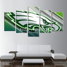 New Modern Home Artwork Poster Picture America Basketball Canvas Unframed Popular Team Members 5pieces Painting Bedroom the UK