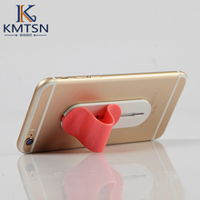Super suction Simple Ellipse Phone Universal Stand Support Finger Car Holder Grip Bracket for Xiaomi  iPhone 6 Smart phone