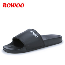 Buy Summer Beach Slip Men Slippers Fashion Outdoor Slide Sandals Casual Flip Flops Sport Slide Slippers Black Slippers Shoes for $23.98 in AliExpress store