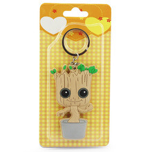 1Pcs 8cm Guardians of the Galaxy Tree Man People Groot Figure Toy With Blister Card