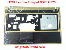 Original upper keypad top case For Lenovo IdeaPad G570 G575 Palmrest keyboard Cover Housing Brand New and Free shipping