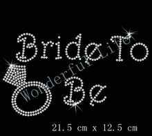 Free Shipping Wedding Bride To Be Diamante Motif