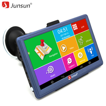Junsun 7 inch Car GPS Navigation Android Bluetooth WIFI Truck Vehicle gps auto navigators sat nav Russia /Europe free map(China)
