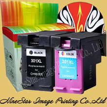 Black + Color 301 301XL Ink Cartridge for HP 301 301XL INK Deskjet 1000 1050 2050 3000 3050 printer NS14