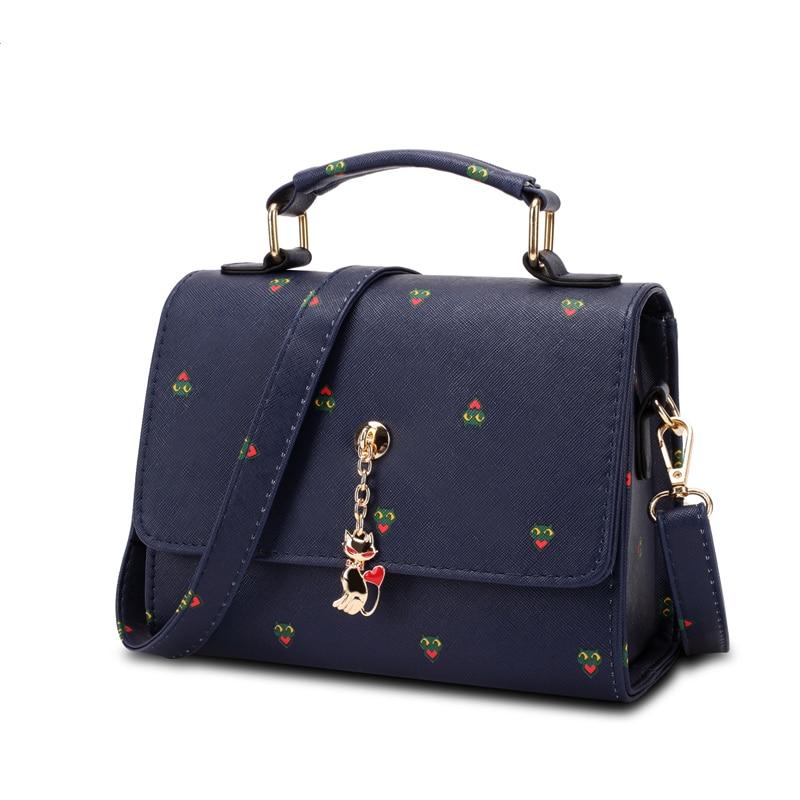 2016 new women bag women Lovely leather handbag famous brands bolsos messenger bag womens shoulder bag handbags gift for lover<br><br>Aliexpress