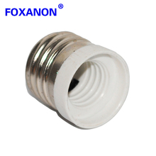 Foxanon brand E27 TO E14 adapter Conversion socket High quality material fireproof material socket adapter Lamp holder 1pcs/lot(China)