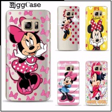Lovely cartoon mickey Minnie mouse Cover TPU soft Phone Case Cover For Samsung Galaxy A3 A5 A7 2017 J5 J7 2016 note 3 4 5 Case