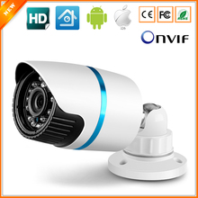 Megapixel HD 720P IP Camera Outdoor IR Bullet Waterproof 1280*720 CCTV Camera IP Megapixel 3.6MM Lens IR Cut Online Phone View(China)